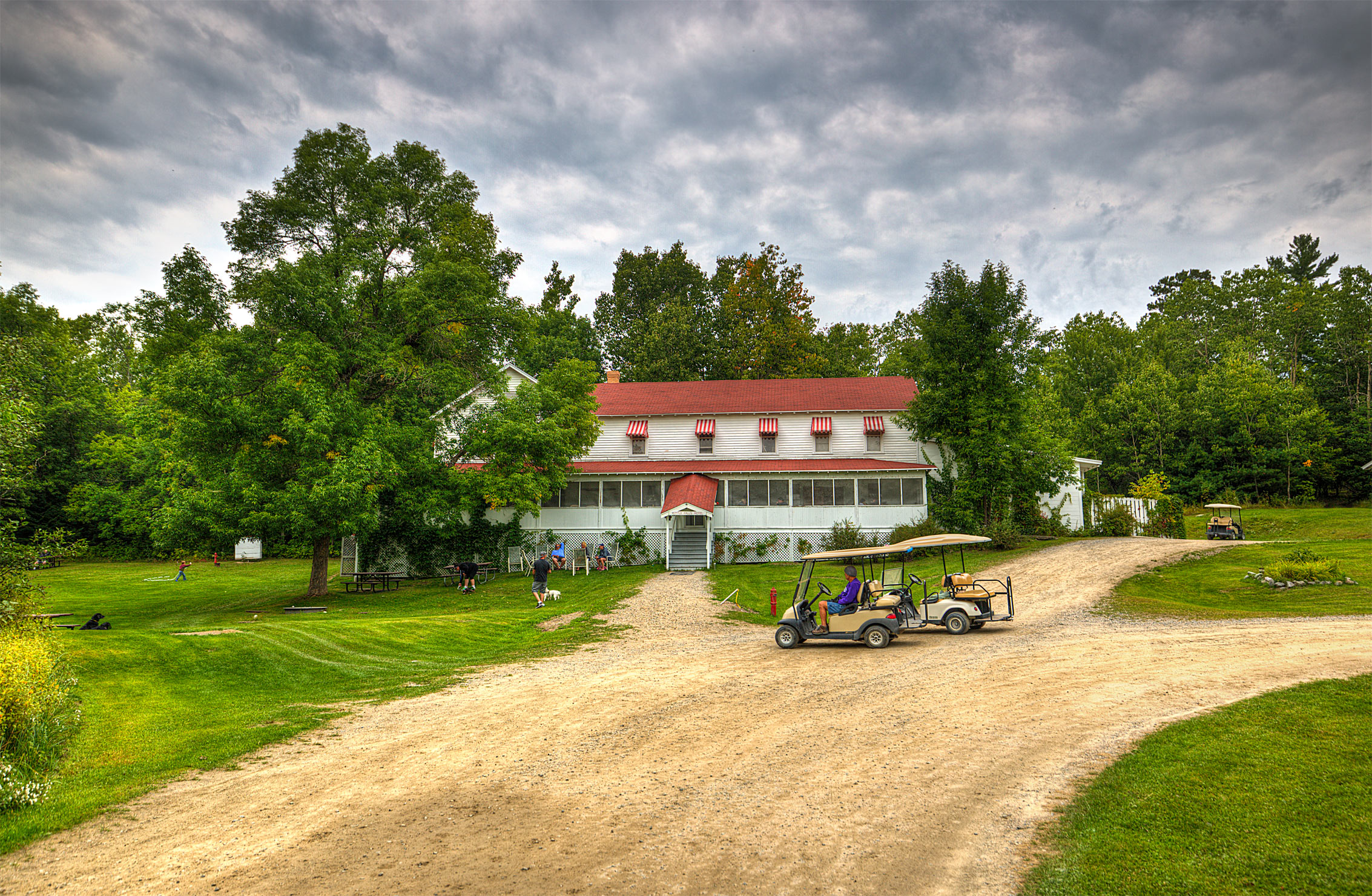 The Kettle Falls Hotel in Voyageurs National Park