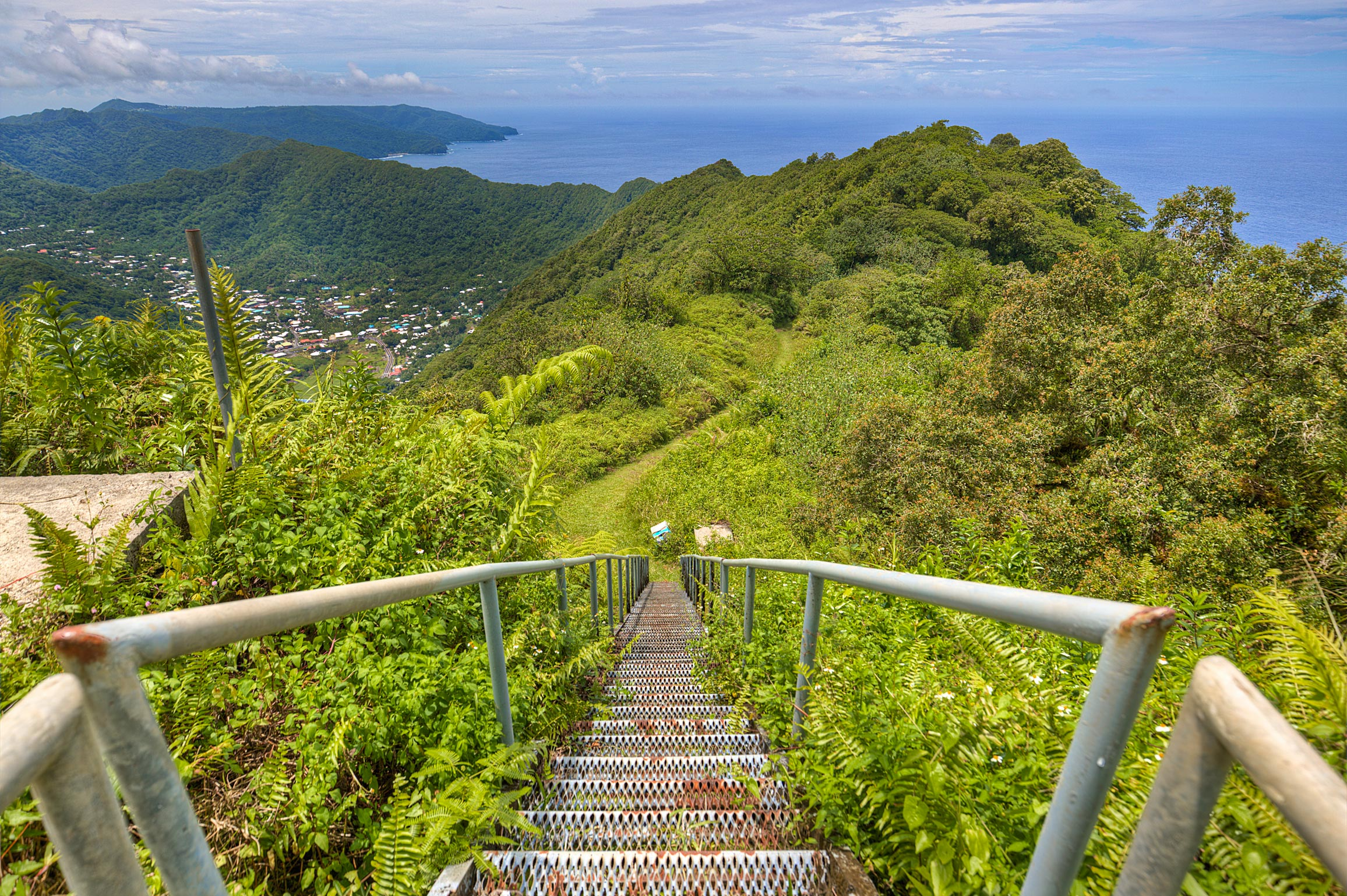 Coming down from Mount Alava Samoa & National Park #49: American Samoa - TheMorganBurke: Photography ...