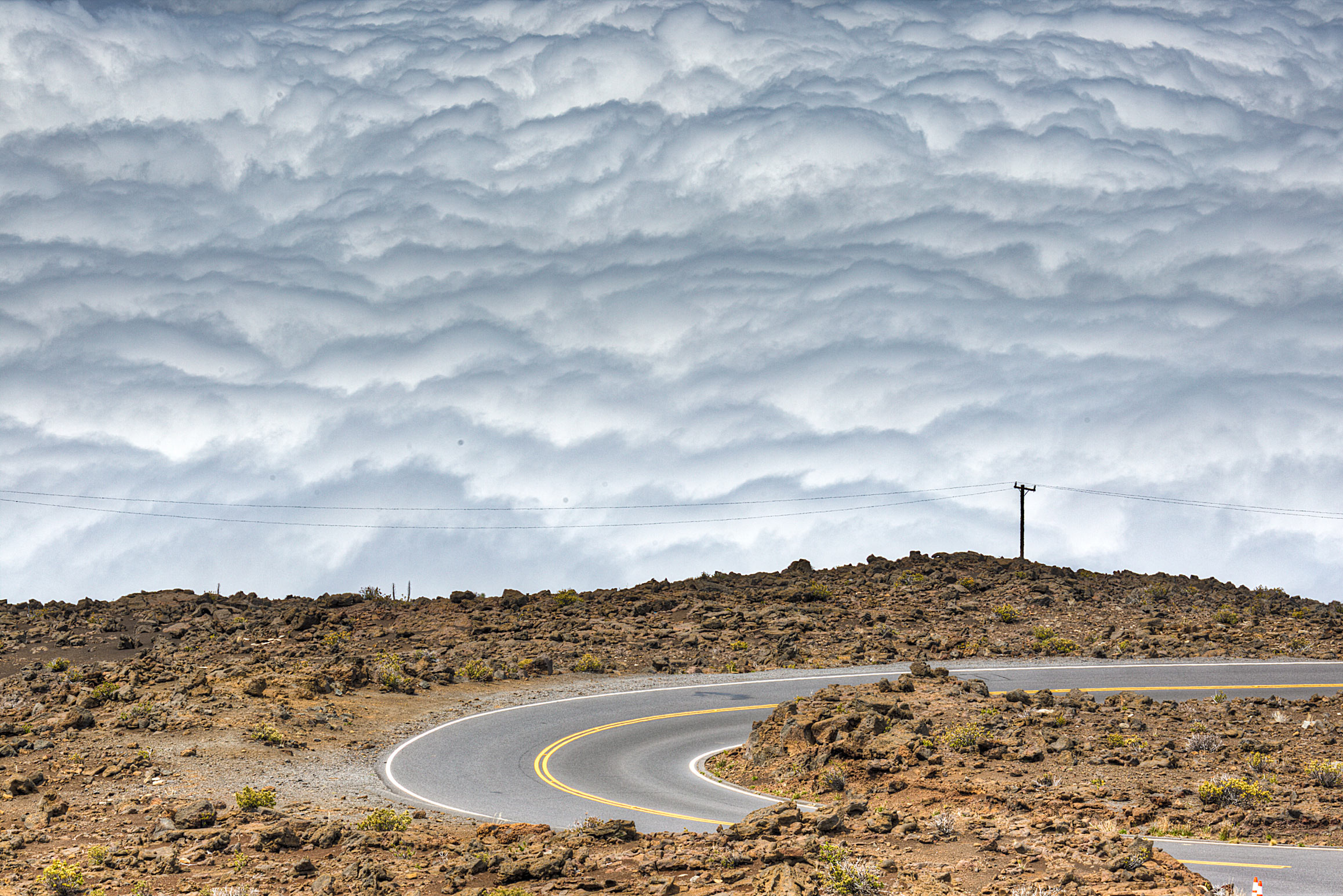 Above the Clouds of Haleakala