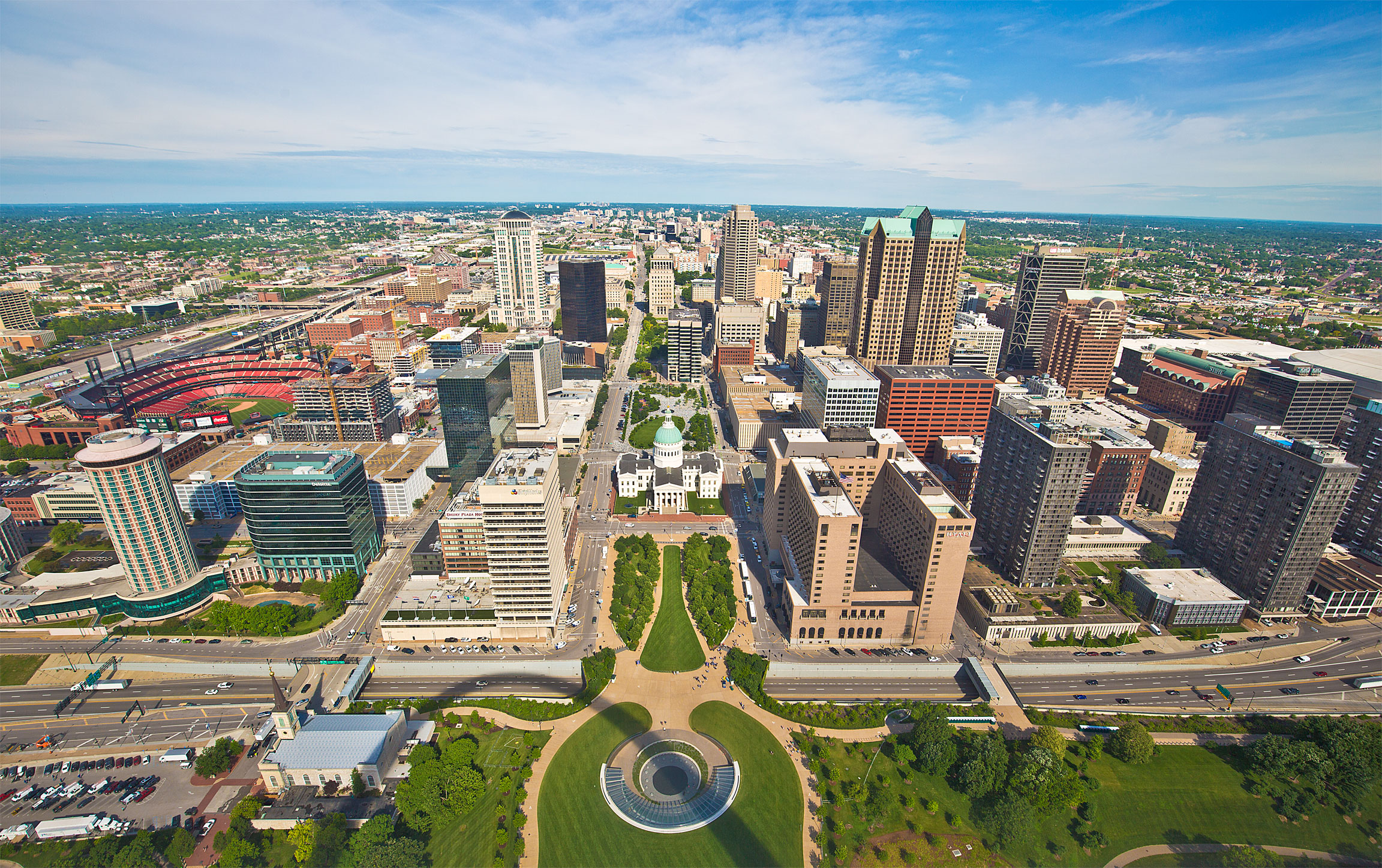 Top of the Arch Downtown Saint Louis