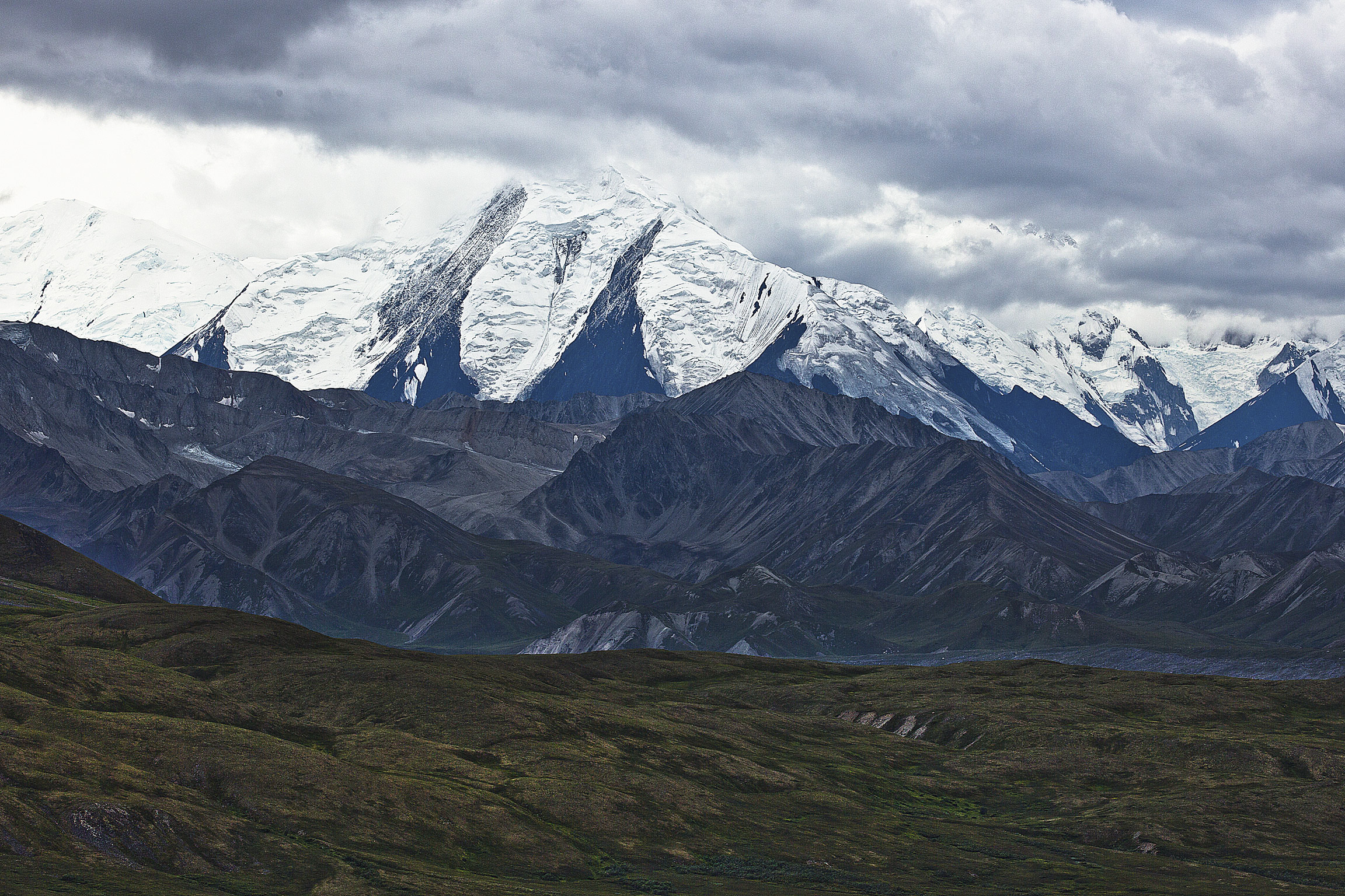 The base of Denali