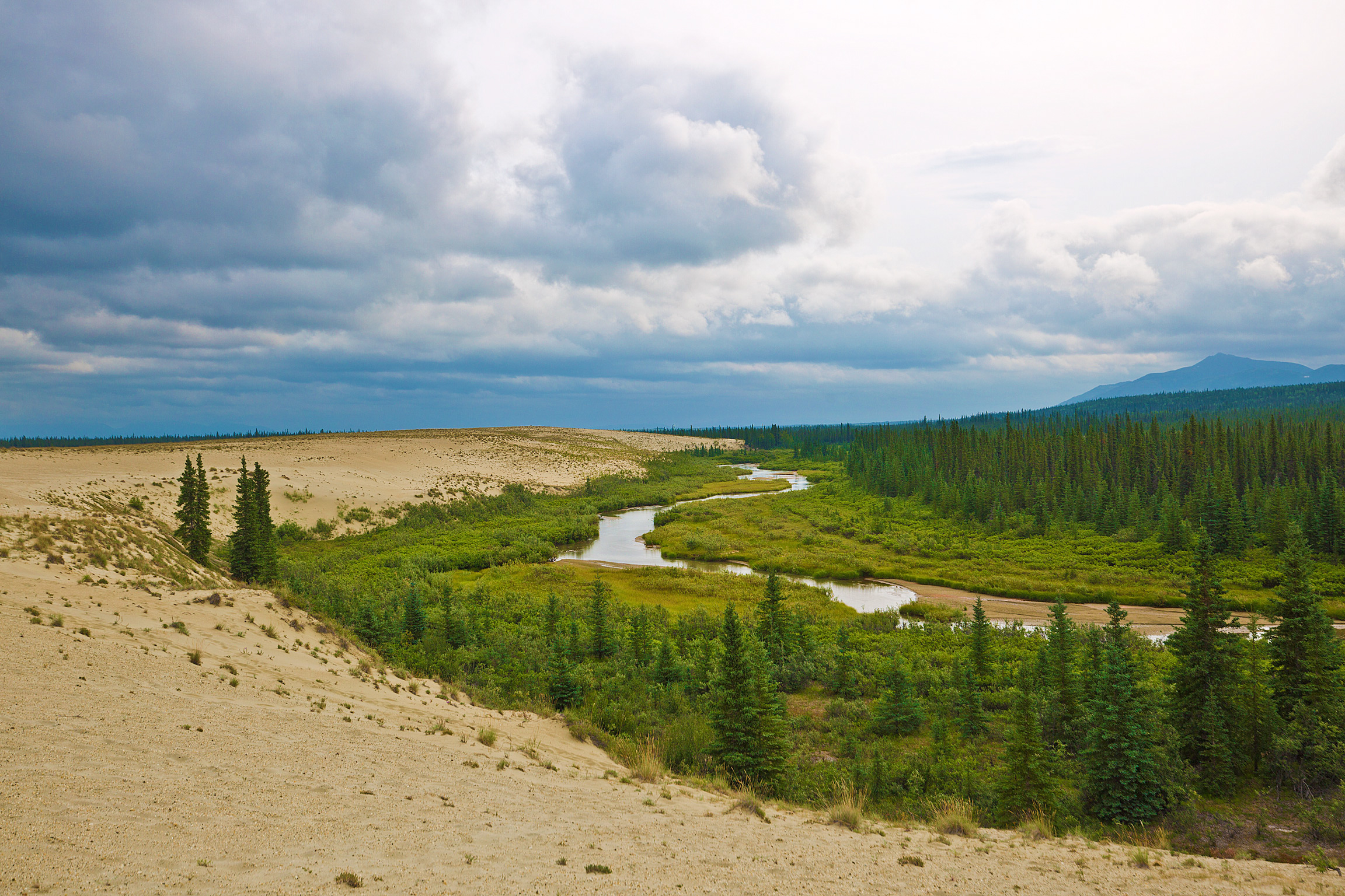 River through the Dunes in Kobuk Valley National Park
